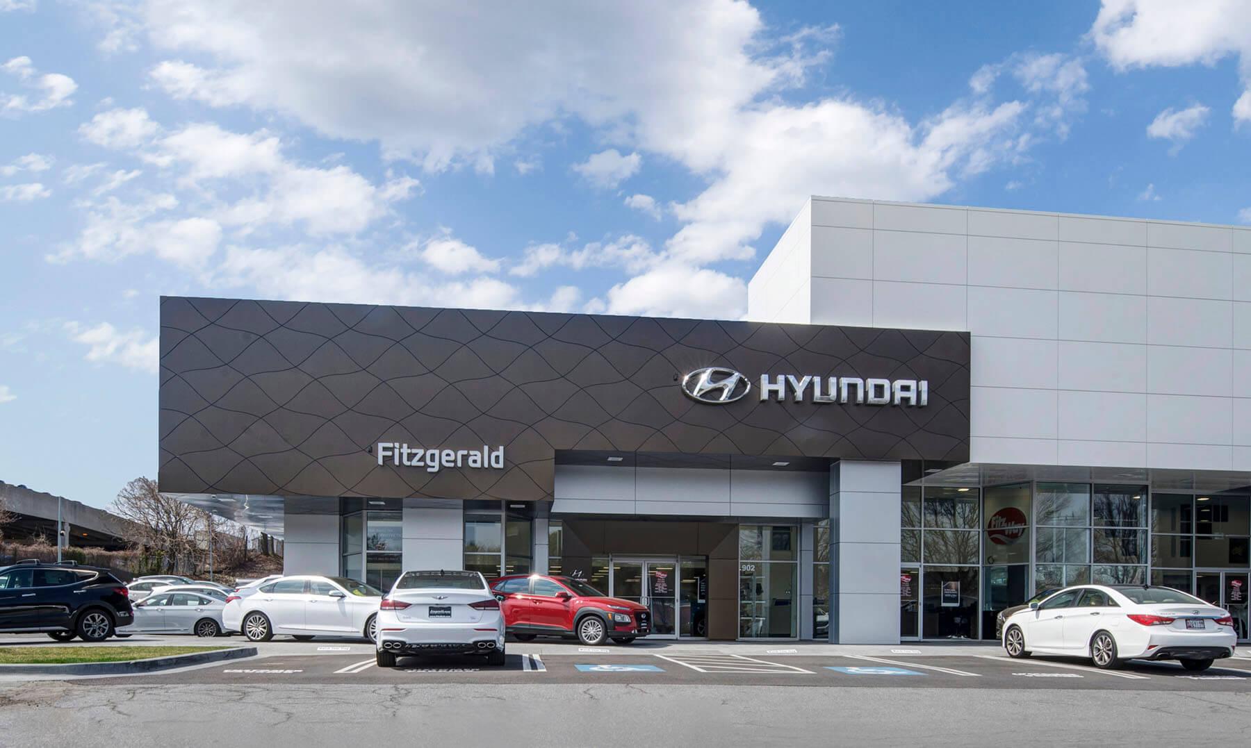 Fitzgerald Auto Malls Fitzgeralds Gaithersburg Hyundai