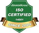 ISO Certified since 2004 at FitzMall.com