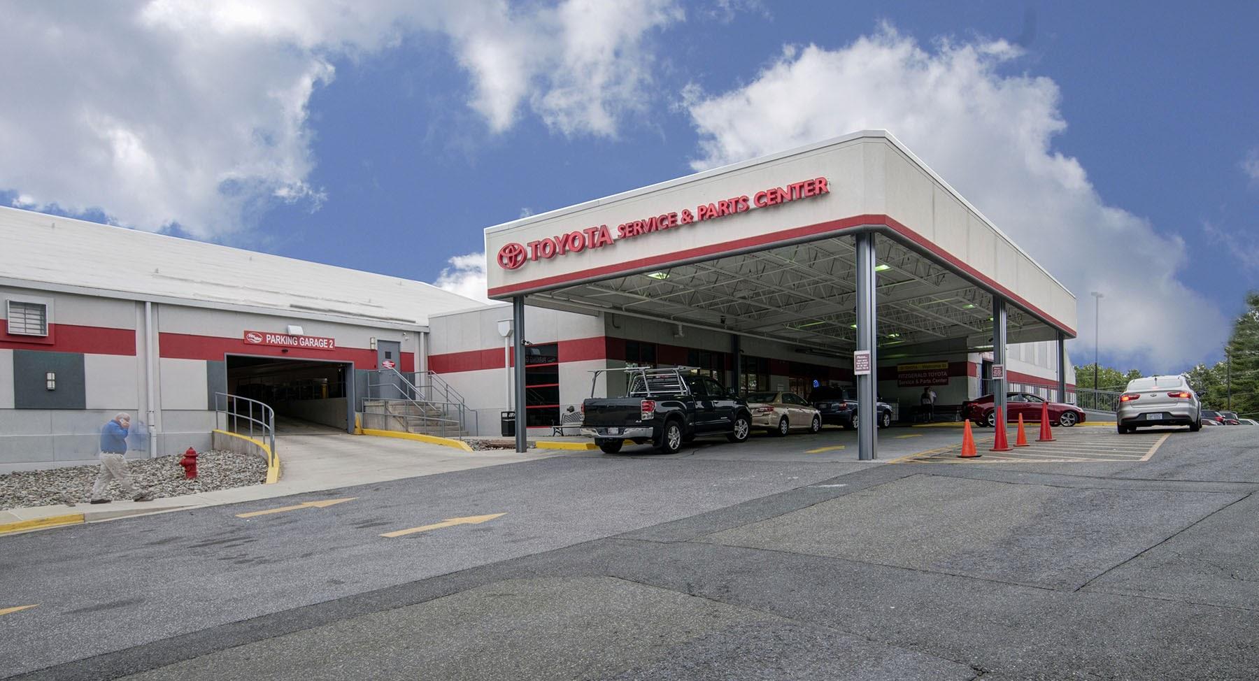 Fitzgerald Auto Mall Frederick >> Fitzgerald Auto Malls Toyota Service Center