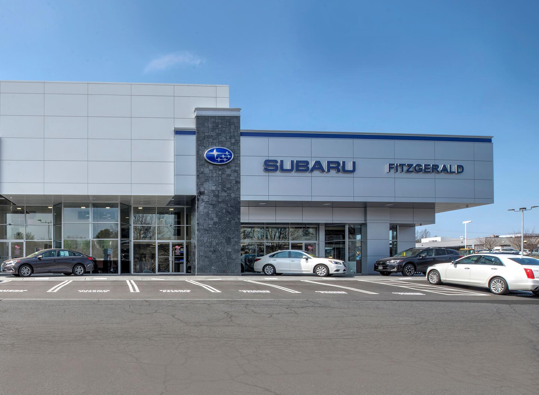 Fitzgerald Auto Malls Fitzgerald Subaru Of Gaithersburg